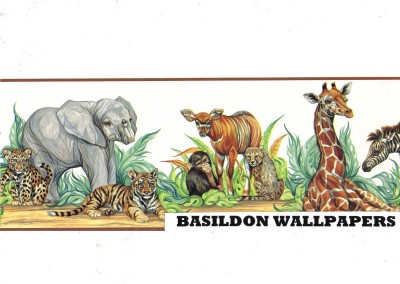 african animal border images