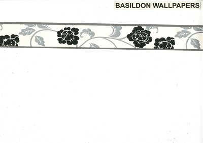 self adhesive borders wallpapers and borders to buy onlineblack silver floral 2610 14 border
