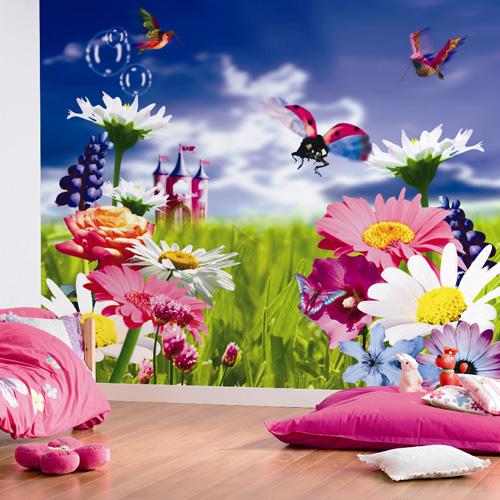 flower field 380041 digital mural flower field