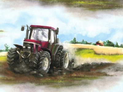 Tractors wallpapers and borders to buy online - Farmall tractor wallpaper border ...