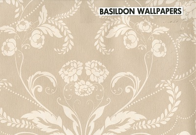 Buy Casadeco Lelia Wallpaper Beige / Black / Cream